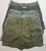 Lot Of 5 Cargo Shorts Mens Size 42
