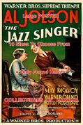 Jazz Singer 1927 Al Jolson May Mcavoy Piano = Movie Poster 10 Sizes 17-4 1/2 Ft