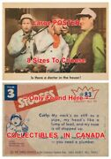 Three Stooges 1959 83 Is There A Doctor In The House =poster 8 Sizes 17 - 3 Ft