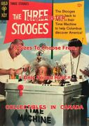 3 Three Stooges 1965 Time Machine Columbus =poster Comic Book 8 Sizes 17 - 3 Ft