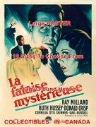 Uninvited 1946 Ray Milland Ruth Hussey French = Movie Poster 10 Sizes 17 - 36