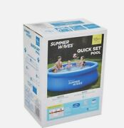 Brand New Summer Waves 10and039x30 Portable Above Ground Pool With Filter Pump
