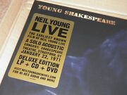 Neil Young - Young Shakespeare Numbered Box Set Sealed Mint Vinyl Lp Cd Dvd