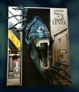 Alien Queen Life-size Wall Sculpture By Hollywood Collectibles Group