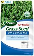 Scotts Turf Builder Grass Seed Sun And Shade Mix Seeds Up To 16,000 Sq. Ft., 40 L