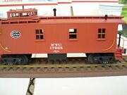 Railking 38-58501 New York Central Wood Sided Caboose W/electric Lightsdie-cast