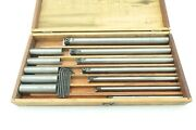 Vintage Everede 7 Piece Boring Bar Set With Sleeves Patent 2310992