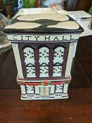 Coca-cola Coke Town Square Collection City Hall Holiday Village 56209 Retired