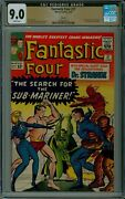 Fantastic Four 27 Cgc 9.0 Curator Pedigree White Pages Marvel Comics 3839685003