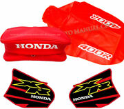 Tank Decals Seat Cover And Fender Bag For Xr 400 Xr400 Xr400r 2000 Premium