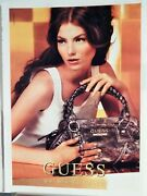 Guess By Marciano Fine Handbags Vtg 2007 Ad