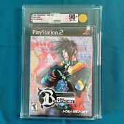 The Bouncer Vga 90+ Sony Playstation 2 Ps2 Brand New Factory Sealed Not Wata