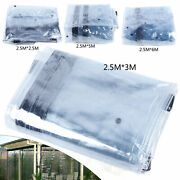 Waterproof Commercial Grade Pvc Clear Awning Canopy Patio Enclosure 100 New