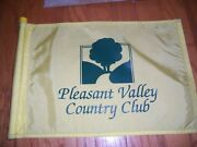 Pleasant Valley Country Club Course-flown Pin Flag Open Ryder British Pga