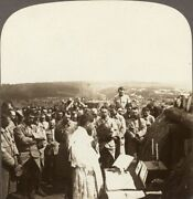Mass In The Allied Trenches On The Western Front - Ww1 Underwood Stereoview 74
