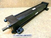 Parker 3-1/4 Bore X 21 Stroke Hydraulic Cylinder 3000 Psi Series 2h