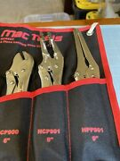 New Mac Tools 3 Pc Hose Pinch-off Pliers Hcp901 Hpp900,hpp901