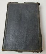 Antique Scofield Reference Edition Holy Bible Leather 1917 Oxford Press Indexed