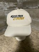 Very Rare Vintage King Air C90b K-products Strap Back Hat Cap Nice