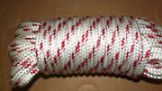 7/16 X 34and039 Double Braid Polyester Sail/halyard Line Jibsheets Boat Rope