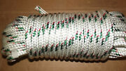 1/2 12mm X 48and039 Double Braid Polyester Sail/halyard Line Jibsheets Boat Rope