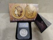 1878-2020 Smithsonian 2oz Silver Morganand039s Eagle Ultra High Relief Pf 70