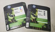 Brand New Unopened Hp 564 Xl Two 3-packs, 3-pack Black, 3-pack Color