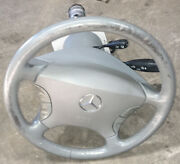 Complete Gray Steering Column W/ Switches And Motors Fits 03-06 Mercedes S-class
