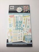 The Happy Planner By Mambi Happy Plans Sticker Sheets 1360 Pieces Free Shipping