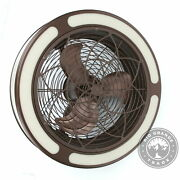 Open Box Home Decorators Collection Ceiling Fan Medallion Light In Brown - 22