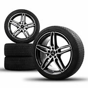 Amg 19 Inch Mercedes Benz E-class W213 S213 C238 A238 Complete Winter Wheels