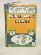 Fisher Irving Phd Ll.d. Mil... World Maps And Globes