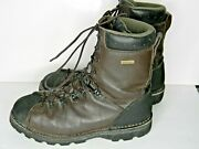 Cabelas Goretex Scentlok Insulated Lace Up Brown Leather Hunting Boots 11d