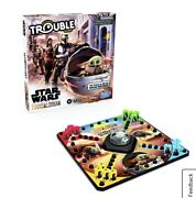 Disney Star Wars The Mandalorian Edition Trouble Game Baby Yoda 2-4 Players 5+