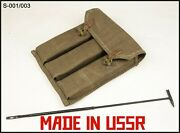 Soviet Pps Ammo Pouch And Cleaning Rod M43 Sudaev Ussr Russian Army Wwii Type