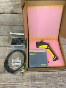 Cognex Dm8500 Industrial Barcode Scanner W/ Power Supply And Usb Cable
