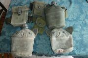 Viet Nam Era M 1956 Canteen Cover With Canteen Belt1st Aid Pouch Canteen