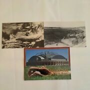 Lot 3 Wisconsin Postcards Miller Park Milwaukee Brewers Madison Canisteo Mine