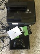 Read Microsoft Xbox One Day One Edition Kinect Bundle 500gb Faulty Controller