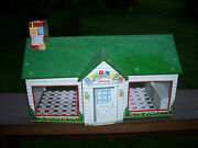 Vintage Sweet Rare Collectorand039s Marx Baby Land Nursery Tin Litho Toy Building