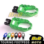 Cnc Racing Wide Rider Footpegs For Kawasaki Versys 650 Kle 1000 Lt