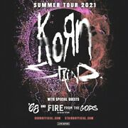 Korn And Staind Live - The Woodlands Tx 9/19 Covered Seats And Great View