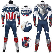 New Captain America Sam W The Falcon Suit Cosplay Costume Ver 3