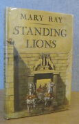 Standing Lions By Mary Ray 1969 1st Ed. Life Of Diomedes And House Of Argos