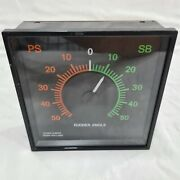 Stork Kwant Rudder Angle Indicator. Type 346.609 Made In Holland.