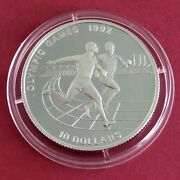 Niue 1991 Olympic Games 1992 10 Silver Proof