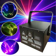 10w Ilda Rgb Animation Fullcolor Party Stage Laser Projector Light For Dj Disco