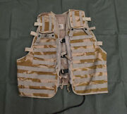 British Army Issued Molle Load Carrying Tactical Ops Vest - Super Grade