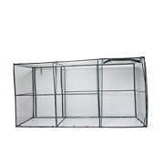 Extra-large Crop Cage 4and039 X 12and039 Protects Blueberries From Birds Rabbits And Dee