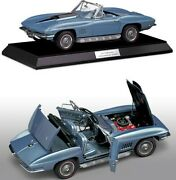 1967 Corvette L88 In Marina Blue In 112 Scale By The Franklin Mint